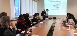 """GAÜN'de """"Timeline Travel"""" projesinin açılış toplantısı yapıldı"""