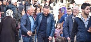 """Başkan Doğan, """"Halkın arasında olmak bana keyif veriyor"""""""