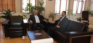 Vali Aktaş'tan Başkan Karaaslan'a geçmiş olsun ziyareti