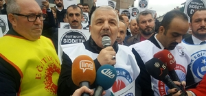 İzmir'de öğretmenin öldürülmesi Bursa'da protesto edildi