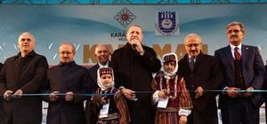 Recep Konuk ve Recep Şeker'den Cumhurbaşkanı Erdoğan'a ve Karamanlılara teşekkür