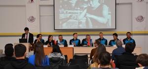 """""""Beton Adamlar"""" Anadolu Üniversitesi'nde öğrencilerle buluştu"""
