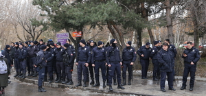 Erzurum'da üniversite öğrencileri arasında gerginlik