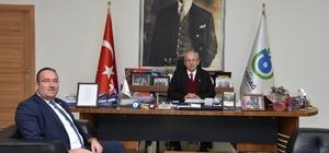 Başkan Albayrak, Başkanı Altıntaş'tı makamında ağırladı