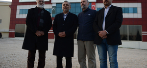 Pakistan Adalet Bakanı Khan, Kilis'te