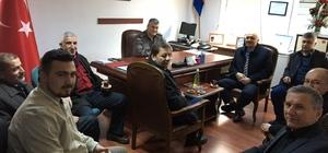 AK Partililerden Kızılcahamam'da protokol ziyareti