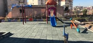 Silopi Belediyesince okullara oyun parkı kuruldu