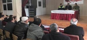 Hasköy'de servis şoförlerine eğitim verildi