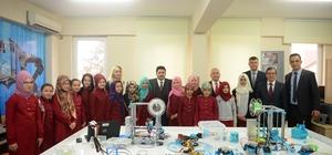 Başkan Avcı'dan Öğretmen ve öğrencilere ziyaret