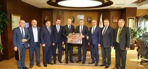 Başkan Kafaoğlu, Bakan Bak'ı ziyaret etti