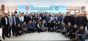 Başkan Atilla amatör spor kulüpleri temsilcileri ile bir araya geldi