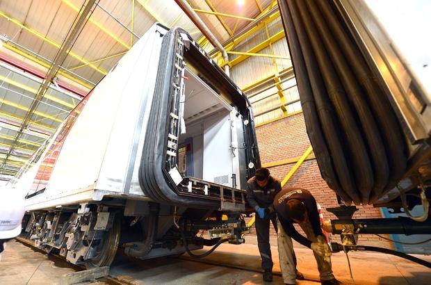Yeni metro vagonları Başkan Tuna'nın talimatıyla hizmete giriyor
