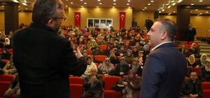 "Sincan'da Senai Demirci'den ""İnfak ve Yoksulluk"" semineri"