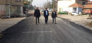 Kaymakam Kadir Yurdagül: Köy yollarımızın asfalt çalışmalarına büyük önem veriyoruz