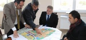 Vali Gül, Sıcak Çermik'te incelemelerde bulundu