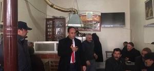 Başkan Yardımcısı Korkusuz esnafını ziyaret etti