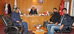 BİBACEM'den Günkırı Belediye Başkanı Çetinsoy'a ziyaret