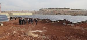 Şanlıurfa'da güneş enerjisi santralleri ile enerji ihtiyacı giderilecek