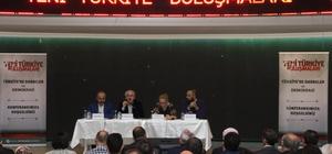"""""""Darbeler ve Demokrasi"""" Finike'de konuşuldu"""