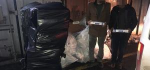 Van'da 15 bin paket kaçak sigara ele geçirildi