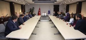 """Başkan Çelik: """"Birlik ve beraberlikle ilçelerimize hizmet ediyoruz"""""""