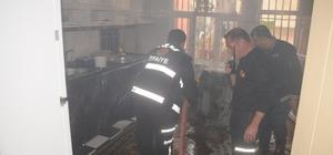 Cizre'de yangın: 1 yaralı