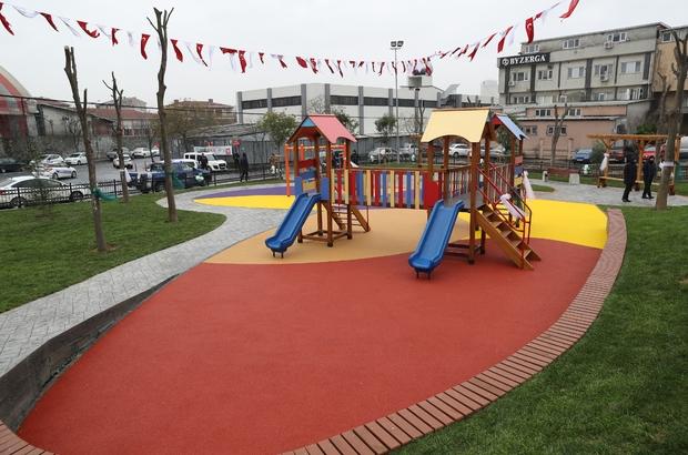 Gaziosmanpaşa'da yeni açılan parka Kudüs ismi verildi