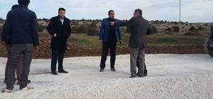 Kaymakam Yurdagül: Artık köy yollarımız sıcak asfaltla kaplanıyor