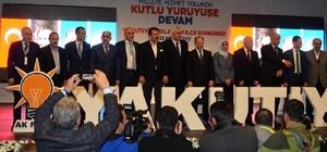 AK Parti Yakutiye, Palandöken İlçesi 4. Olağan Kongresi'nde Başkanlar güven tazeledi