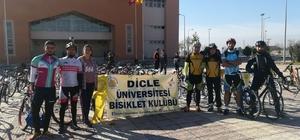 Diyarbakır'da 'Dicle'nin pedal sesi' etkinliği
