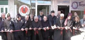 Kulu'da gazi ve şehit aileleri  derneği bürosu  açıldı