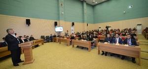 """Başkan Akyürek: """"Gençlik meclisleri mektep vazifesi görüyor"""""""