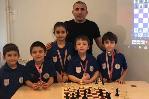 Ümraniyeli minikler, Anadolu Yakası satranç birincisi oldu