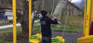 Sapanca'nın 76 Çocuk parkına iyileştirme yapıldı