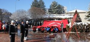 Kaman İlçesinde Atatürk'ün gelişinin 98. Yıl dönümü töreni düzenlendi