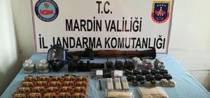 Mardin'de 48 depo, sığınak ve barınak tahrip edildi