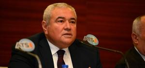 """ATSO Başkanı Çetin: """"Yılbaşı dini bir konu değildir"""""""
