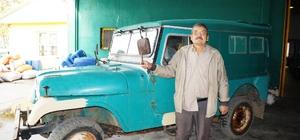 Yeşil cipler Aydın dağlarındaki çiftçilerin en büyük yardımcıları