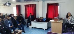 Selendi'de din görevlileri ve öğretmenler bağımlılık hakkında bilgilendirildi