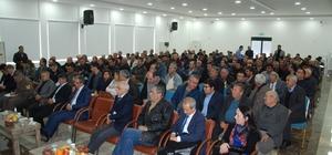 Silifke'de çiftçi sorunları ve çözüm önerileri toplantısı yapıldı