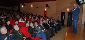 Silifke'de 'Sanayi, Tarım, Enerji ve Turizm İlişkisi' konferansı