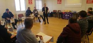 Meriç Belediyeler Birliği'ne ilk yardım eğitimi