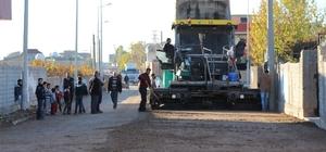 Silopi'de asfalt çalışması
