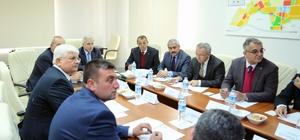 İncesu OSB Müteşebbis Teşekkül Heyeti Vali Kamçı Başkanlığında Toplandı