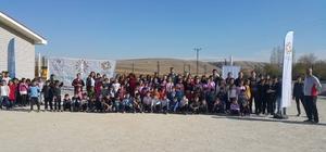 Köy okulları sporla buluşuyor