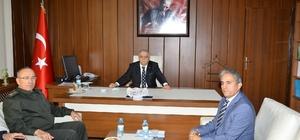 Vali Şentürk, Mucur Kaymakamlığını ziyaret etti