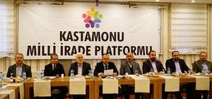 Milli İrade Platformu, Cumhurbaşkanı Erdoğan'dan beklentilerini açıkladı