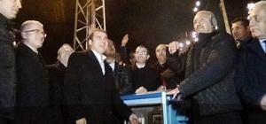 Erciş'te Sahil Yolu Vitrin Projesi'nin birinci ayağı hizmete açıldı