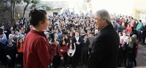 Başkan Demircan'dan öğrencilere doğum günü sürprizi