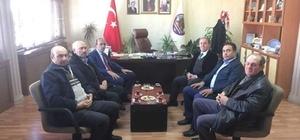 Başkan Halil Başer'e ziyaret